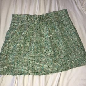J. Crew Tweed Skirt